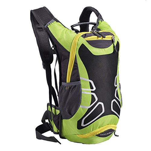 Angelbubbles MTB Bike Bicycle Cycling Riding Running Camping Hiking Waterproof Outdoor Backpack  ...