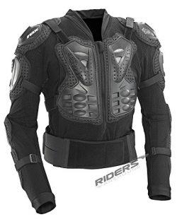 Fox Racing Titan Sport Protective MTB Jacket (Black, Large)