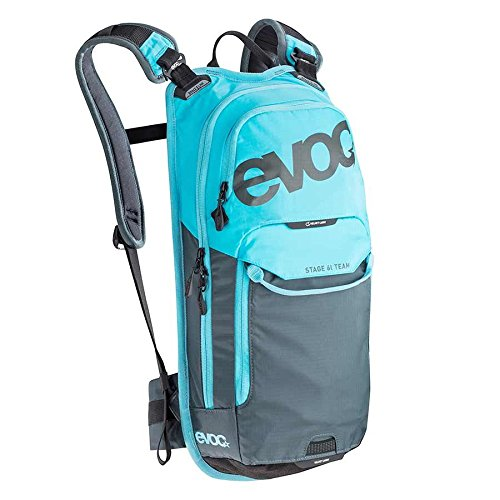 Evoc Stage Technical 6L Bike Daypack with 2L Bladder Team Neon Blue/Slate, 6L