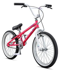 Mongoose Girls Legion LSX Bicycle, Pink, One Size/20″