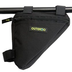 Bike Frame Bag,OUTERDO Bike Bag BicycleTube Pannier Frame Bag Cycling Front Triangle Pack Pipe P ...