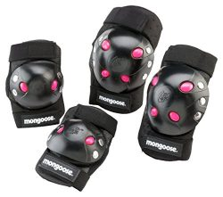 Mongoose Girls Youth Gel Pad Set