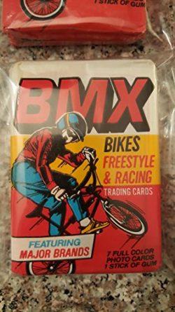 Bike (1) BMX Vintage Packs 1985 Unopened Trading Cards Rare