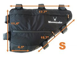 Moosetreks Bicycle Full Frame Pack | Bikepacking, Bike Touring, Commuting Full Frame Bag | Extre ...