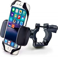 Bike & Motorcycle Cell Phone Mount – For iPhone 6 (5, 6s Plus), Samsung Galaxy Note or ...
