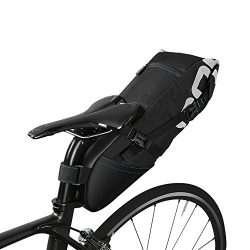Ideashop Waterproof Bike Bicycle Saddle Bag Seat Bag Under Seat Packs Tail Pouch Cycling Bicycle ...