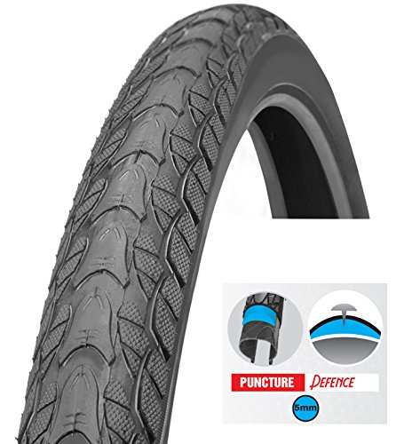 Tire Bicycle, street 26 X 2.0 Inch Puncture Resistant 5mm, Puncture Guard, thorn resistant, Comf ...
