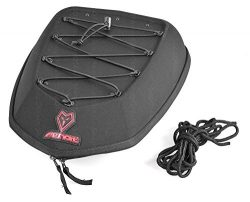 Motorcycle Tail Bag Motorbike Scooter Luggage Seat Box Cargo Net featuring Mesh