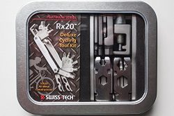 Swiss Tech MFTTWSS-RX-PS Rx20 Platinum Deluxe Cycling Tool Kit