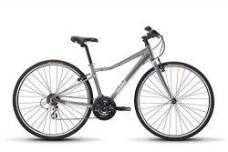 Diamondback Bicycles Clarity 1 Women's Fitness Hybrid Bike 16″ Frame, Silver, 16R ...