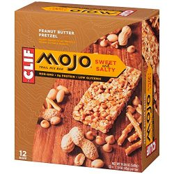 CLIF MOJO – Sweet and Salty Trail Mix Bar – Peanut Butter Pretzel – (1.6 Ounce ...
