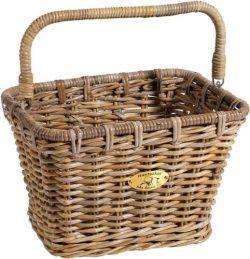 Nantucket Bicycle Basket Co. Tuckernuck Dutch Rectangle Basket w/ Hooks