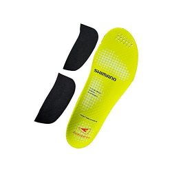 Shimano Custom Fit Cycling Shoe Insole – ESMSHRC9INCF (YELLOW – 42-43.5)