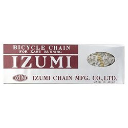 Izumi Standard Track/Fixed Cycling Chain 1/2″ x 1/8″ Silver