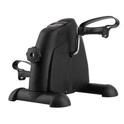 Holarose Pedal Exerciser, Portable Medical Exercise Peddler For Arm and Leg Indoor Fitness, Delu ...