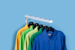 HangerJack Foldable Hanger Storage System for Clothes and Laundry, Closet Organizer, Garage and  ...