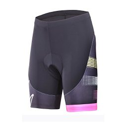 (Limited time) Beroy Cycling Women's Short, Bike Shorts with 3D Gel Padded, Small, Pink