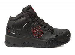 Five Ten Men's Impact High Approach Shoes, Black/Red, 9 D US