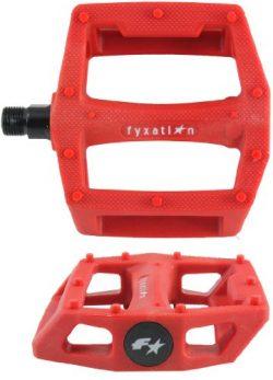 Fyxation Gates BMX Platform Pedal, Red