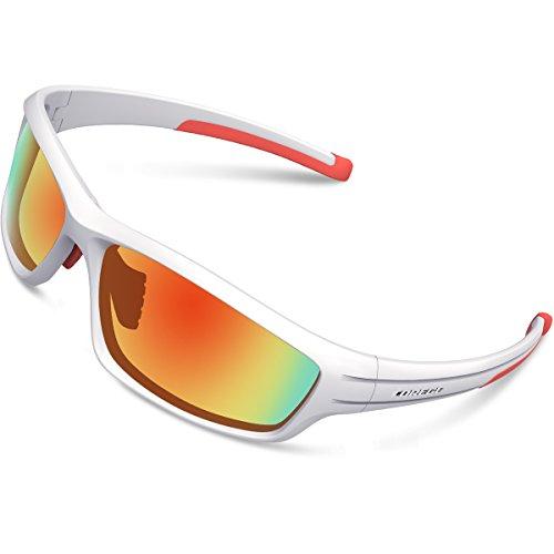 276da99c345 TOREGE Polarized Sports Sunglasses For Man Women Cycling Running Fishing  Golf TR90 Unbreakable F ..