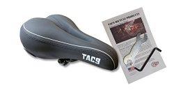 TAC 9 Bike Saddle / Seat – Comfort Airflow Hybrid Most Comfortable Vinyl – UNISEX &# ...