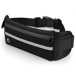 Sports Running Belt and Travel Fanny Pack for Jogging, Cycling and Outdoors with Water Resistant ...