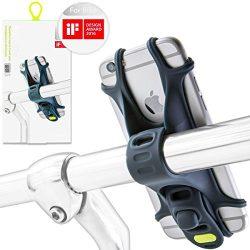 Bicycle Bike Phone Mount Holder, Bone Collection [Bike Tie] Universal Handlebar Rack Stroller Cl ...