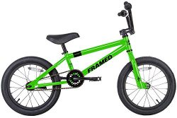 Framed Impact 16 BMX Bike Green Kids Sz 16in