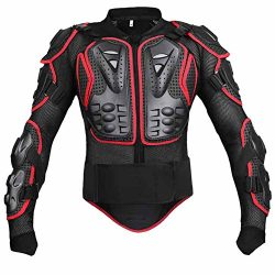 Wishwin Professional Motorcycle Armor Jacket Full Body Protective Gear Shoulder Spine Chest Cool ...