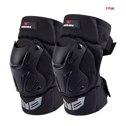 Lixada WOSAWE 1 Pair Cycling Knee Brace Bicycle MTB Bike Motorcycle Riding Knee Support Protecti ...