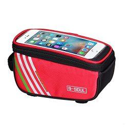 Domybest Bicycle Cycling Bike Frame Front Tube Waterproof Mobile Phone Bag Multifu