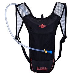 2 Liter Hydration Backpack with Reservoirs Water Bladder for Hiking Climbing Biking Cycling for  ...