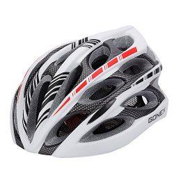 Adult Bike Helmet, Gonex Cycling Road Helmet with Safety Light, Adjustable 58-62cm, 24 Integrate ...