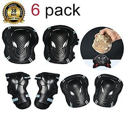 TBNO1 Roller Skating Knee Pads Childrens Knee Pads Elbow Pads Wrist Elbow Protective Blading Pad ...