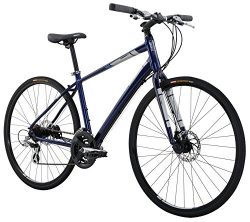 Diamondback Bicycles Insight 2 Complete Hybrid Bike, 16″/Small, Blue