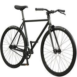 Pure Fix Original Fixed Gear Single Speed Bicycle, Amaru Matte Black, 58cm/Large