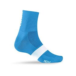 Giro Classic Racer Socks Blue Jewel/White Medium