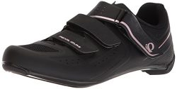 Pearl iZUMi Women's W Select Road v5 Cycling Shoe, Black/Black, 40.0 M EU (8.4 US)