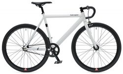 Retrospec Bicycles Drome Track Urban Commuter Bike Fixed-Gear/Single-Speed with Sealed Bearing H ...