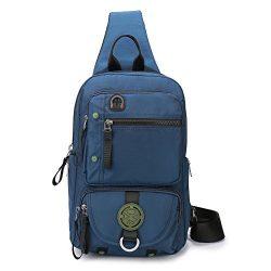 DDDH Sling Bags Crossbody Backpack,Chest Shoulder Pack Book Bag for Travel Outdoor Hiking Bike ( ...