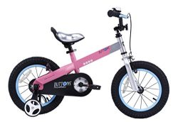 RoyalBaby CubeTube Kid's bikes, unisex children's bikes with training wheels, variou ...