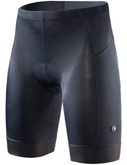 RION CYCLING Men's Bike Shorts Padded Tights Bicycle Pants (Steed-A8, M)