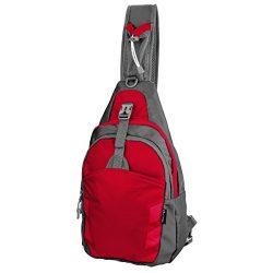 LC Prime Sling Bag Bag Chest Shoulder Unbalance Gym Fanny Backpack Sack Satchel Outdoor Bike nyl ...