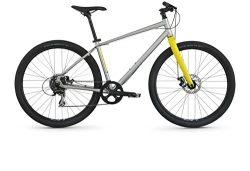 Raleigh Redux 1 Urban Assault Bike, 21″ /XL Frame, Slver, Silver, 21″ / X-Large