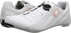 Pearl Izumi Women's W Race Road v5 Cycling Shoe, White/Grey, 38.5 M EU (7.2 US)