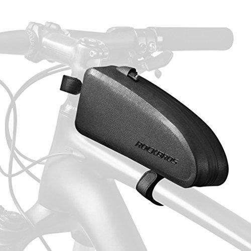 RockBros Bike Frame Bag Water Resistant Top Tube Bag Bicycle Front Phone Bag Cycling Accessories ...