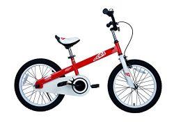 Royalbaby CubeTube Kid's Bike, Red Honey, 16 inch wheels