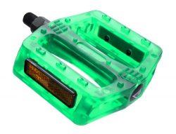 Black Ops BMX Gummy Pedals, 9/16″, Green