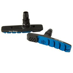 Box Components Three Air Flow Brake Pads, 70mm, Blue
