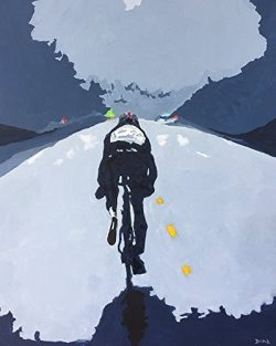Cyclist – Road Less Traveled Artwork